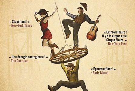 Saloon par le Cirque Eloize au 13eme Art