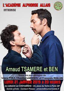 Intronisation de Ben et Arnaud Tsamere à l'Académie Alphonse Allais