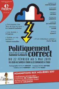 Politiquement correct, de Salomé Lelouch au théâtre de l'Oeuvre