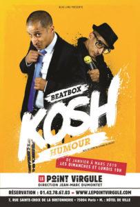 Kosh – spectacle de beatbox mis en scène par Etienne de Balasy