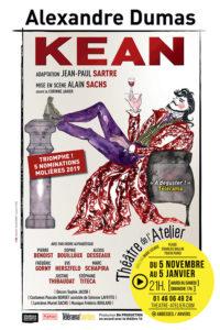 Kean d'Alexandre Dumas mis en scène par Alain Sachs