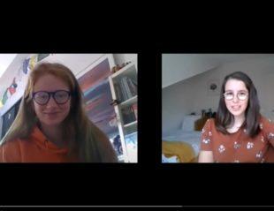 Capture d'écran du slam de Tic et Tac pour la 2e scène virtuelle du Chat noir