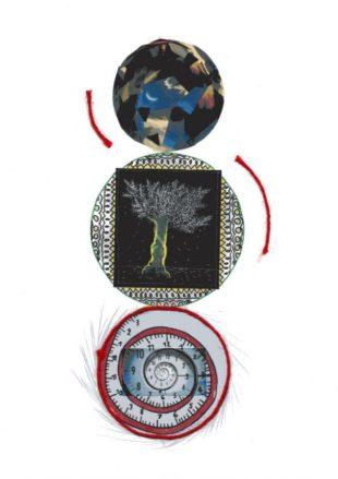 Composition de Roxane Mathubert pour la 2e scène virtuelle du chat noir