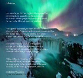 Compo texte image de Maxime Delagausieu pour la 2e scène virtuelle du chat noir