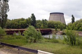 photo de Tchernobyl illustrant le poème de Melissa Fuentes pour la 3e scène du chat noir @ Sven Teschke