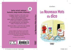 Les nouveaux mots du dico par Julien Barret couv et 4e de couv