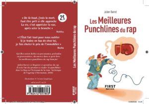 Les Meilleures Punchlines du rap par Julien Barret - 1ere et 4e de COUVERTURE