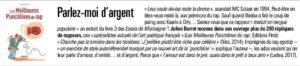 Article paru dans l'Agefi Hebdo