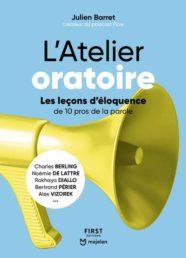 Couverture du livre L'Atelier Oratoire de Julien Barret